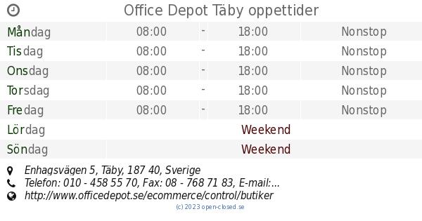office depot täby