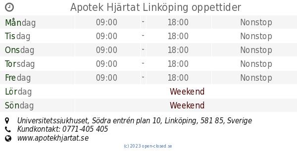 apotek hjärtat us linköping